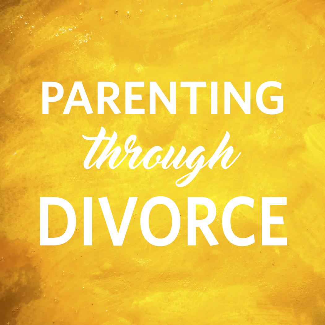Parenting through divorce, parent image